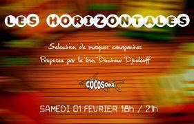 ÉVÉNEMENT COCOSODA : LES HORIZONTALES