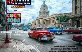 ÉVÉNEMENT COCOSODA : HAVANA EXPRESS