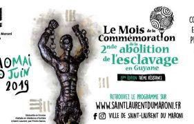 Commémoration de la seconde abolition de l'esclavage en Guyane